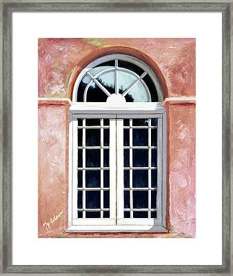 Reflections Of The Past - Prints From My Original Oil Painting Framed Print