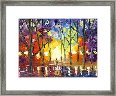 Reflections Of The Soul Framed Print by Jessilyn Park