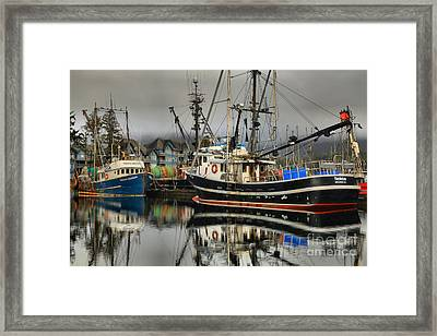 Reflections Of The Tactician Framed Print by Adam Jewell