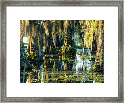 Reflections Of The Times Framed Print by Kimo Fernandez