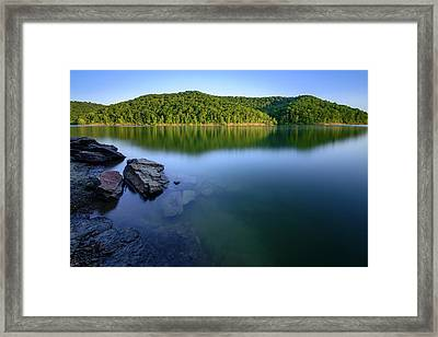 Reflections Of Tranquility Framed Print