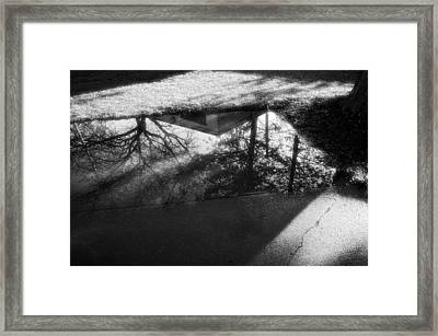 Framed Print featuring the photograph Reflections Of Two Loves by Jeanette O'Toole