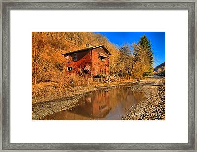 Reflections Of West Virginia Framed Print