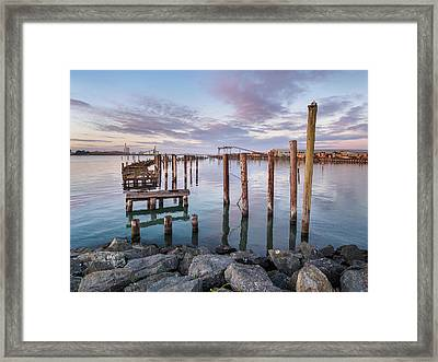 Reflections On Decay Framed Print by Greg Nyquist