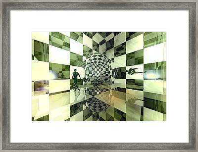 Reflections On Infinity Framed Print by Carol and Mike Werner