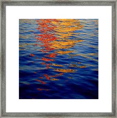 Reflections On Kobe Framed Print