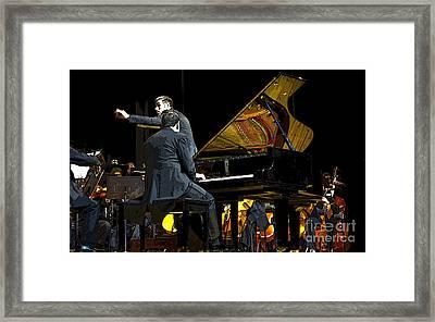 Reflections On Music Framed Print by Al Bourassa