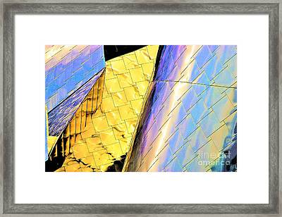 Reflections On Peter B. Lewis Building, Cleveland2 Framed Print