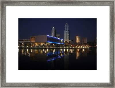 Reflections On Tampa Framed Print by David Lee Thompson