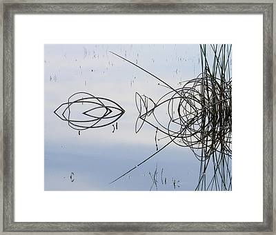 Reflections One Framed Print by Charlie Osborn