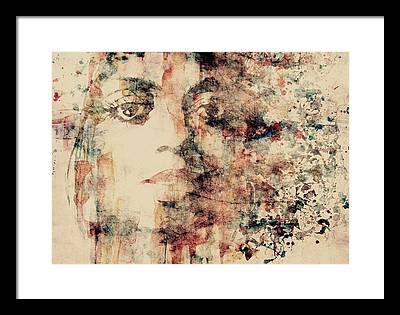 Blue-eyed Soul Framed Prints