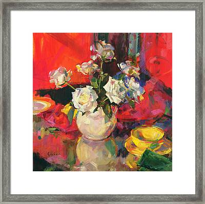 Reflections Framed Print by Peter Graham