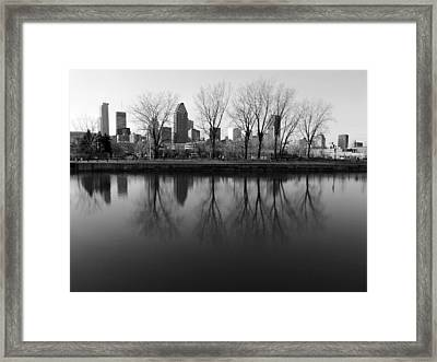 Reflections Framed Print by Robert Knight