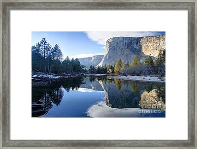 Reflections Framed Print by Rod Jellison