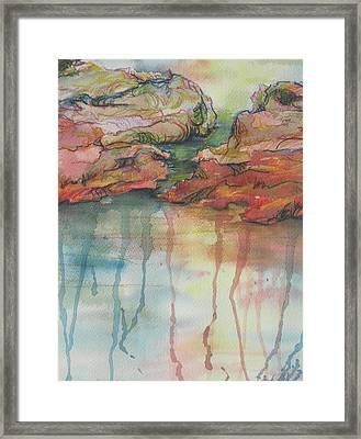 Reflections Framed Print by Sandy Tracey