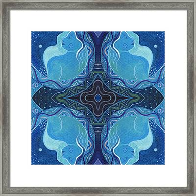 Reflections - T J O D 26 Compilation Framed Print by Helena Tiainen
