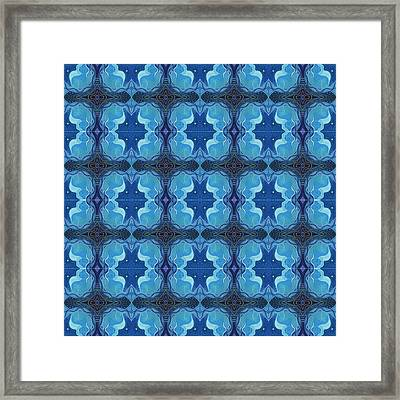 Reflections - T J O D 26 Compilation Tile Framed Print by Helena Tiainen