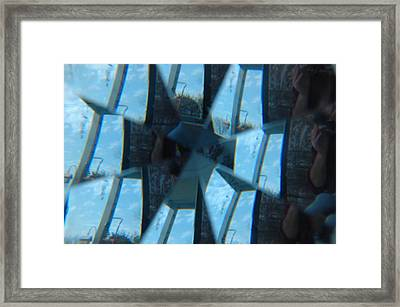 Reflections Unmasked Framed Print by Kicking Bear  Productions