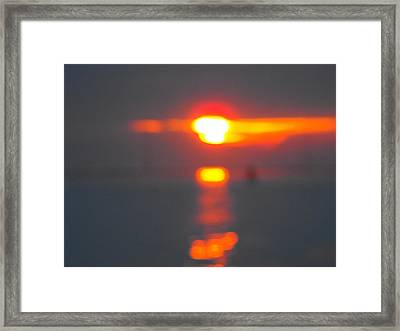 Reflections Framed Print by Viviana Puello Villa