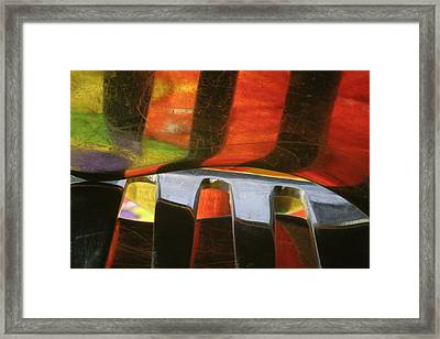Reflections2 Framed Print by Christine Amstutz