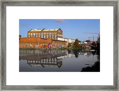 Reflective Canal Framed Print by Jez C Self