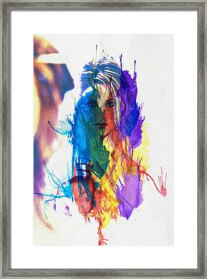 Reflective Colours Framed Print by Naman Imagery