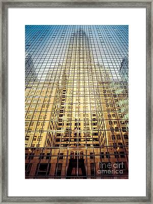 Reflective Empire Framed Print