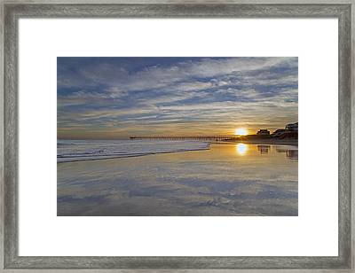Reflective Paradise Framed Print