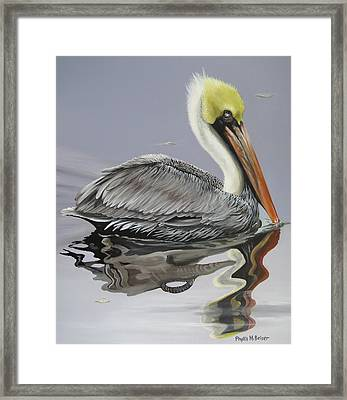 Reflective Perspective Framed Print