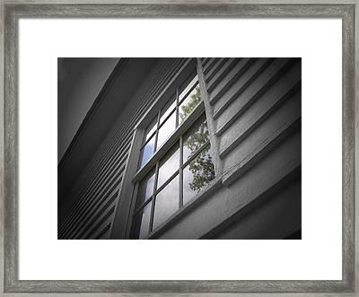 Reflective Truths Framed Print by Jessica Burgett