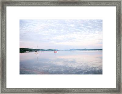 Reflexion I Framed Print by Martin Rochefort