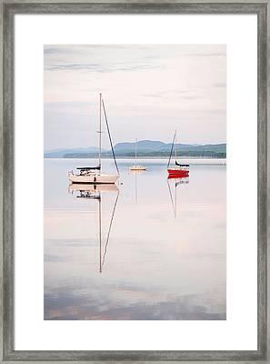 Reflexion IIi Framed Print by Martin Rochefort