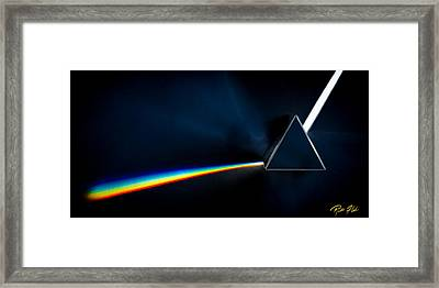 Refraction  Framed Print by Rikk Flohr