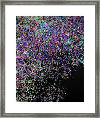 Refractions 9-18-2015 #1 Framed Print by Steven Harry Markowitz