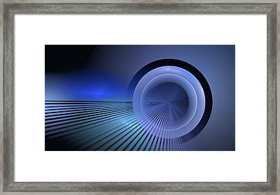 Refractive Index Of Life Framed Print