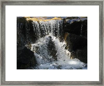 Refresh Framed Print by Russell Keating