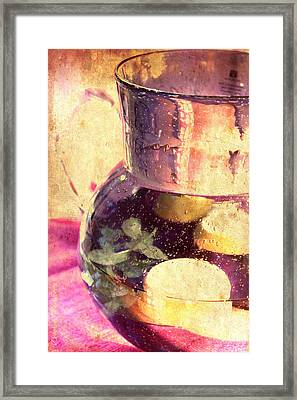 Refreshment Framed Print