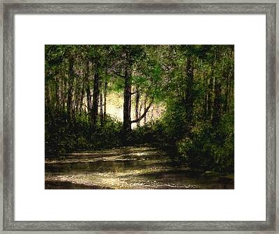 Refuge - Early Morning Framed Print