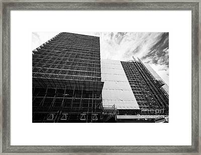 Refurbishment Of Lloyd House West Midlands Police Headquarters Office Development In New Financial A Framed Print