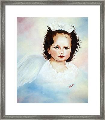 Regal Angel Framed Print by Joni McPherson