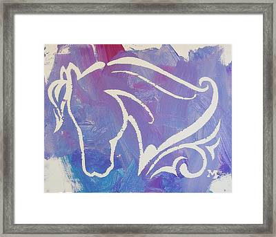 Regal Horse Framed Print