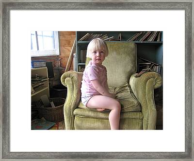 Regal Molly Framed Print by Lynn Friedman