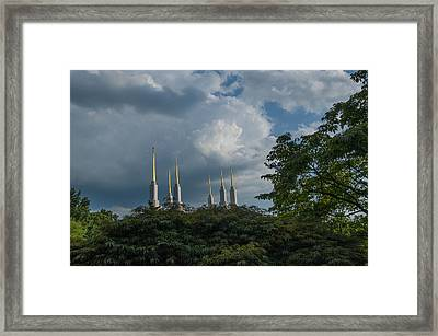 Regal Spires Framed Print