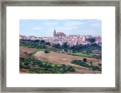 Regalbuto - Sicily Framed Print by Joana Kruse