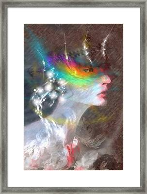Regard Jaloux Framed Print by Freddy Kirsheh