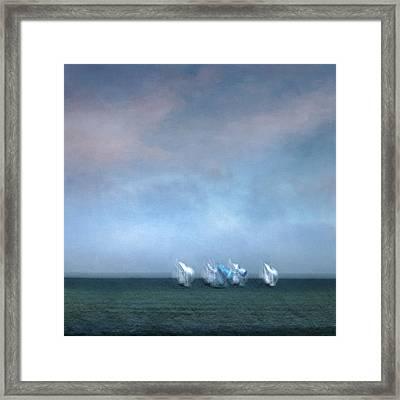 Regatta 2 Framed Print