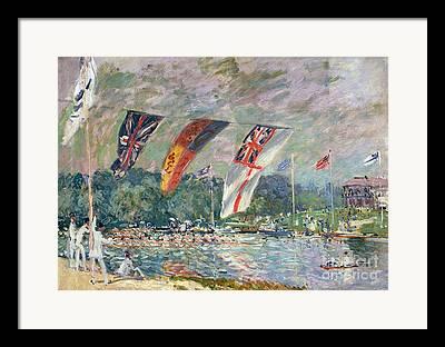Boat Races Framed Prints