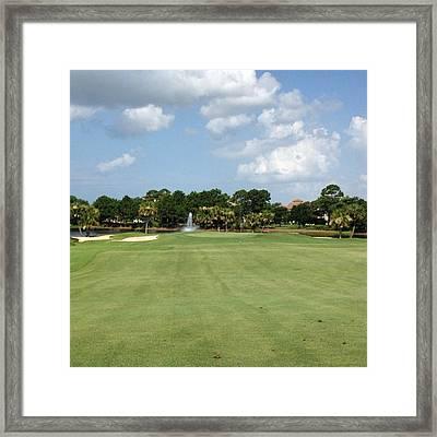 Regatta Bay #golf #instagramers Framed Print