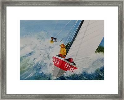 Regatta Framed Print