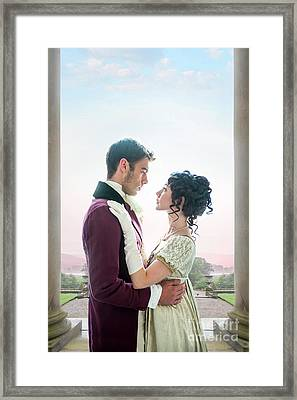 Regency Romance Framed Print by Lee Avison
